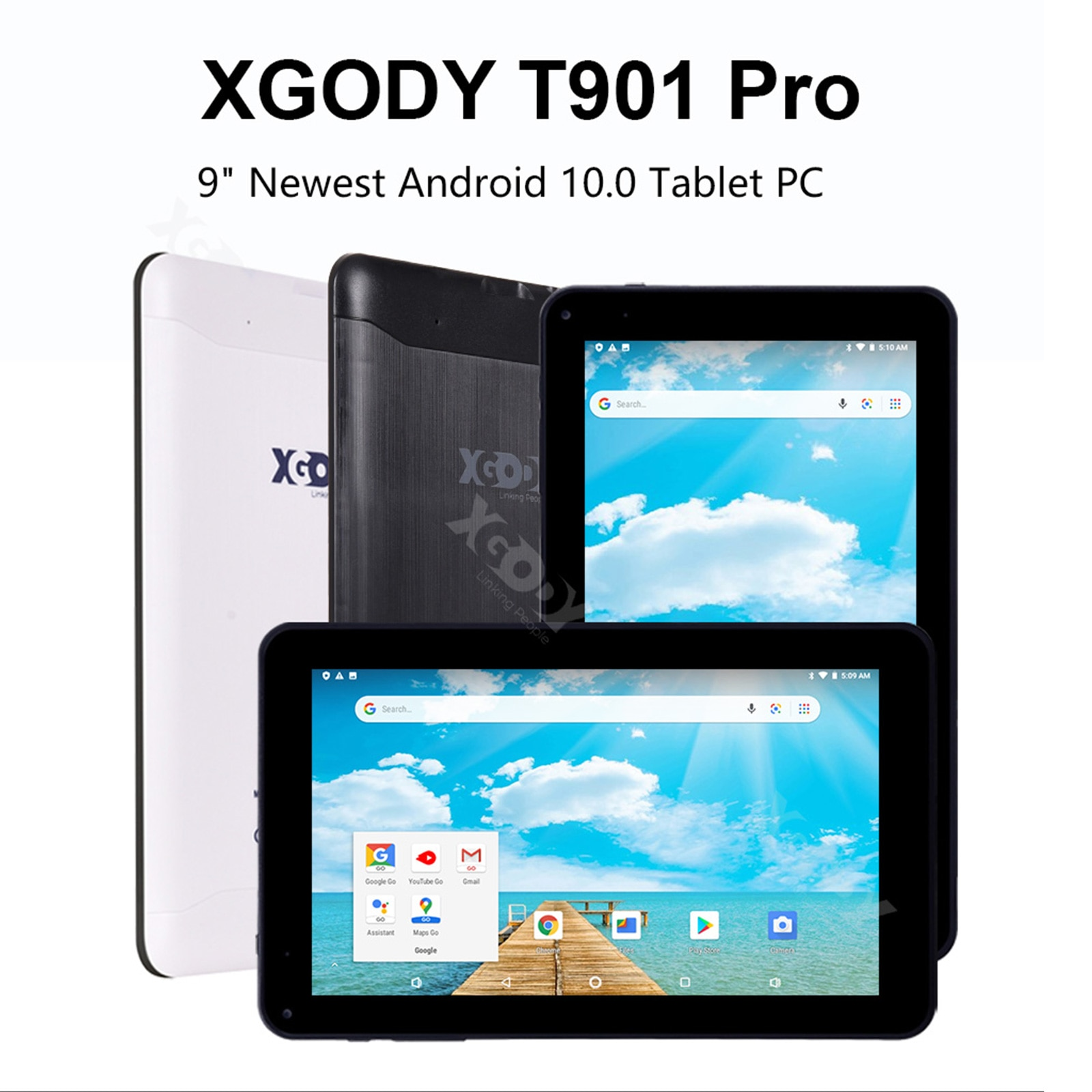 tablet Android 9.0 Octa Core 3GB RAM 32GB ROM 3200mA WiFi, 9-inchsuitable for children's education