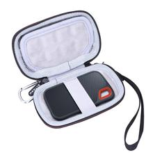 LTGEM EVA Hard Case für Sandisk 1TB Extreme Tragbare Externe SSD-Bis zu 550 MB/s-USB-C,USB 3,1-SDSSDE60-1T00-G25