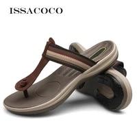 issacoco home women slippers summer women beach flip flops sandals slippers ladies indoor house slippers pantuflas size 36 46