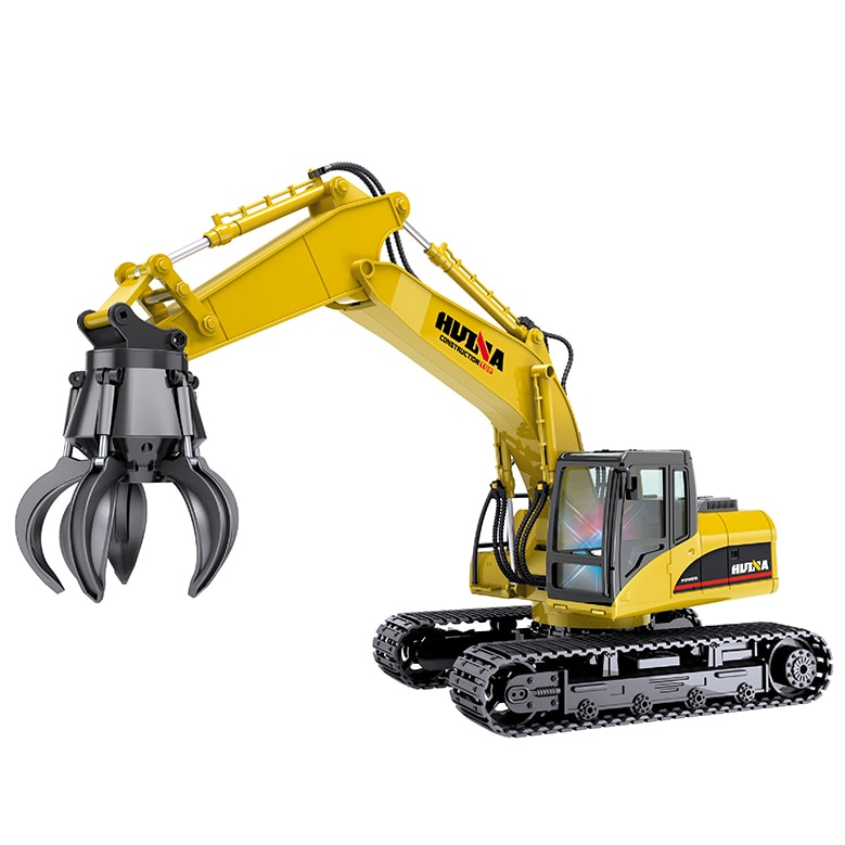 1:14 scale 2.4GHz 16 channels Huina 1571 RC Grab Loader Open-window Packing For 8 Years Old Children shipping from Australia enlarge