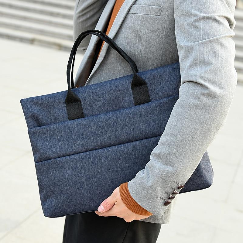 New classic handbags for men  Crazy horse skin one-shoulder cross-body bag  Office briefcase business trip computer bag