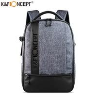 "K&F Concept Professional Camera Backpack Large Capacity Waterproof Photography Bag for DSLR Cameras14-15"" LaptopTripodLenses"