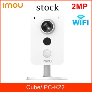 Dahua Imou Cube IPC-K22 Wireless IP Camera 2MP Camera Wifi Support 256g SD Card PIR Built-in Mic and Speaker