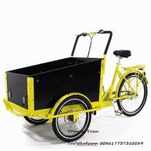 Vente chaude homeuse vente commerciale cargo currier tricycle vélo électrique cargo vélo nourriture vélo en chine