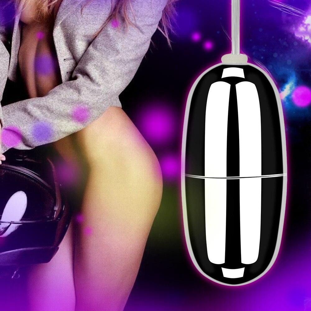 A prueba de agua con cable de Control remoto Shacking masajeador de choque Vibrador de huevo juguetes sexuales para mujer Vibrador para mulher juguetes para adultos