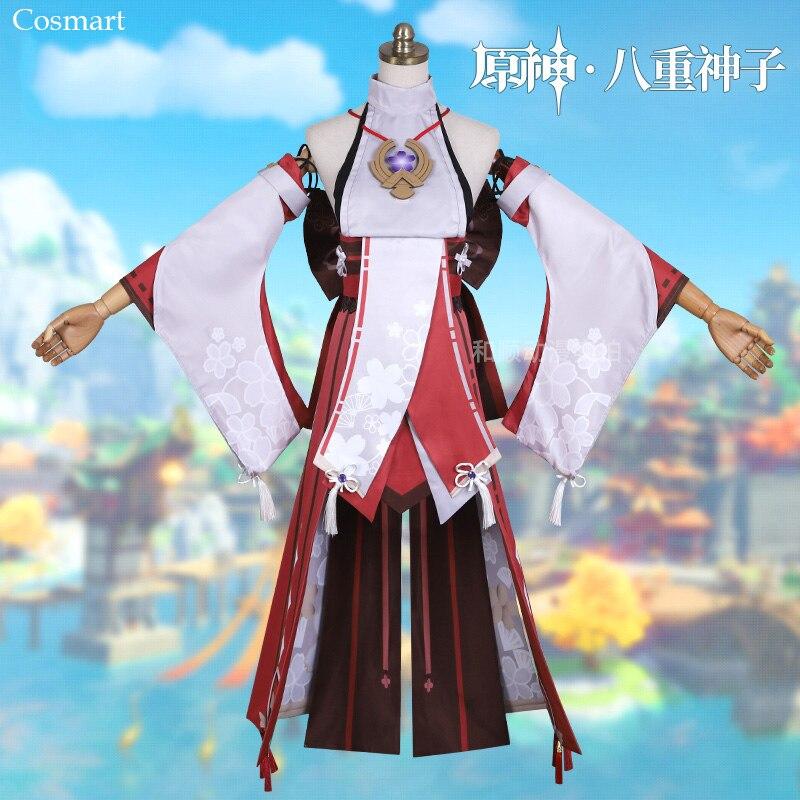 بدلة ألعاب جميلة من جينشين إمباكت ياي باشونغشنزي زي تنكري با تشونغ شين زي تنكري للهالوين زي حفلات للكرينفال من أجل دبليو