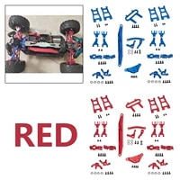 steering knuckles for blackout xte 110 scale 4wd rc hobby car diy