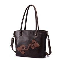 Soft Quality Leather Famous Brand Luxury Ladies Large Shopper handbag Shoulder bag Women Designer Fe