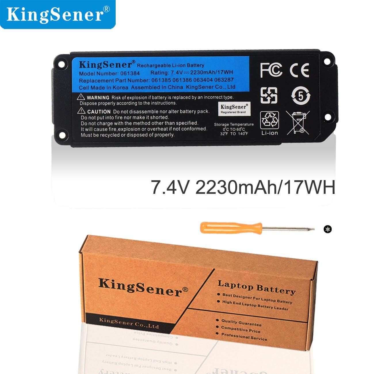 Kingsener 061384 061385 061386 063404 063287 Batterie Für BOSE SoundLink Mini ICH Bluetooth Lautsprecher Akku 7,4 V 17WH