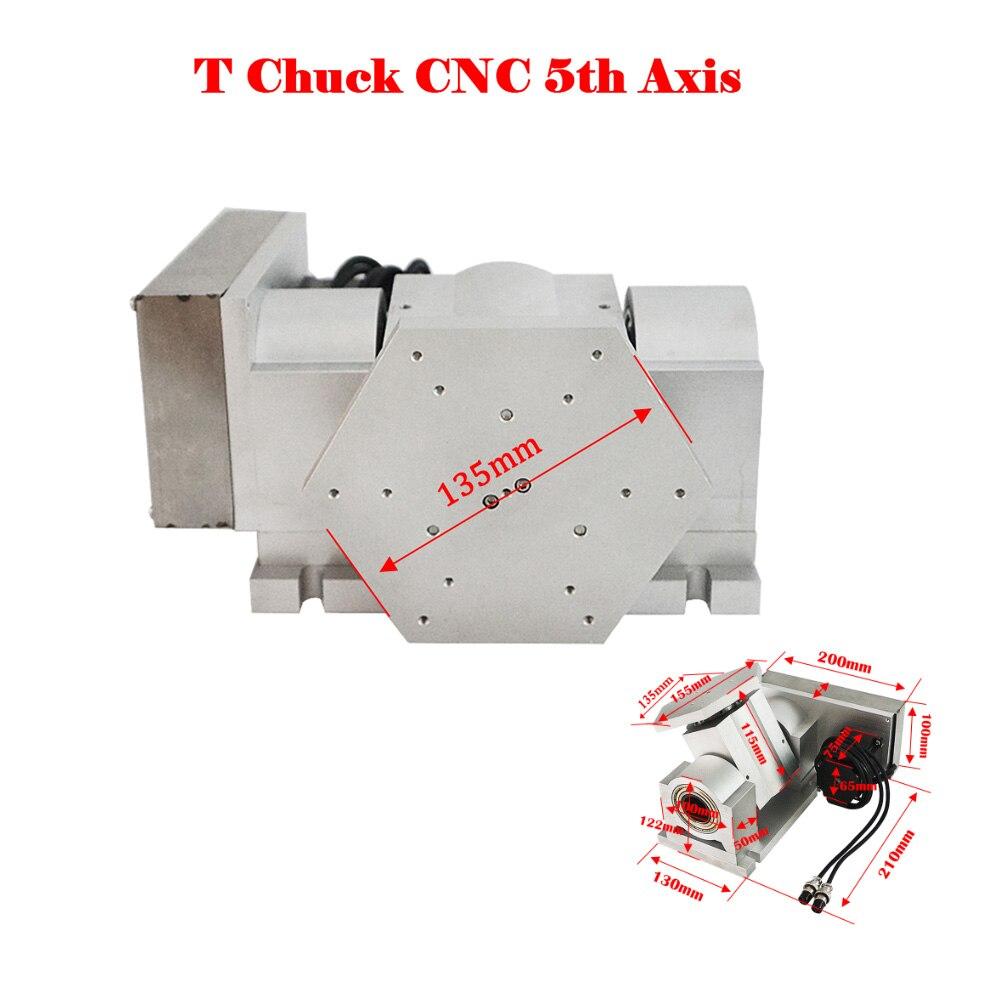 نك 5 محور B محور دوار محور T تشاك نوع ل آلة طحن مسيير موجه من خلال الحاسب الآلي
