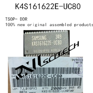 100% brand new Memory granule K4S161622E-UC80 TSOP 1M x 16 SDRAM routing upgrade memory BOM allocation