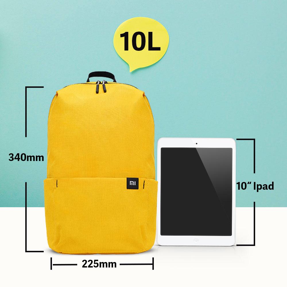 Beg galas kasual Xiaomi Mi 10l asli beg sukan rekreasi Mi unisex - Beg galas - Foto 5
