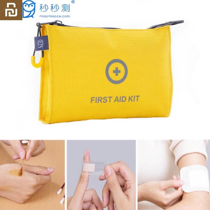Original Youpin Miaomiaoce 67 Uds Mini botiquín de primeros auxilios bolsa de supervivencia médica compacta para emergencia en casa al aire libre coche campamento