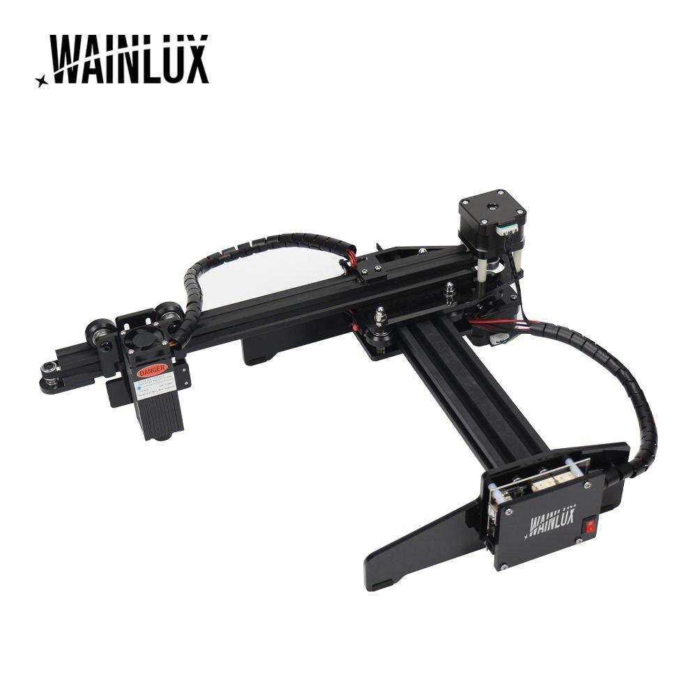 Настольный лазерный гравер Wainlux JL4, 7 Вт, USB, принтер «сделай сам» для нанесения логотипа и маркировки, режущий станок с ЧПУ, фрезерный станок с...