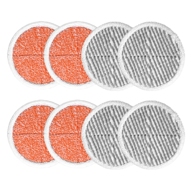 8 упаковок, вращающаяся швабра, замена для Bissell Spinwave 2124, 2039, 2037 серия, жесткая напольная Швабра