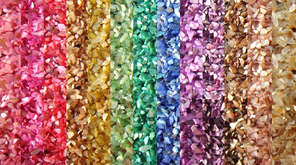 Hollow out heart-shaped sequin glitter nail art corner face makeup patch DIY manual glue filling material accessories