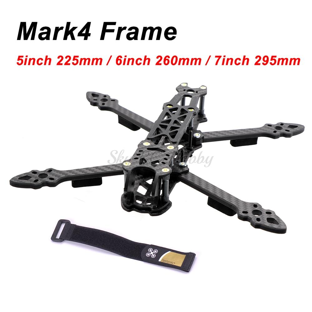 Mark4 علامة 5 بوصة 225 مللي متر/6 بوصة 260 مللي متر/7 بوصة 295 مللي متر مع 5 مللي متر الذراع Quadcopter الإطار 5