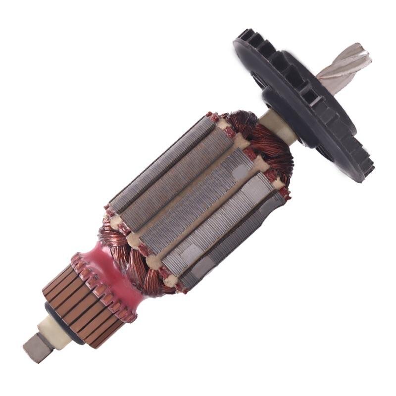 AC220V المحرك الدوار مرساة استبدال ل هيلتي TE-10 الكهربائية مطرقة الدوار تأثير الحفر الاكسسوارات السلطة أداة أجزاء