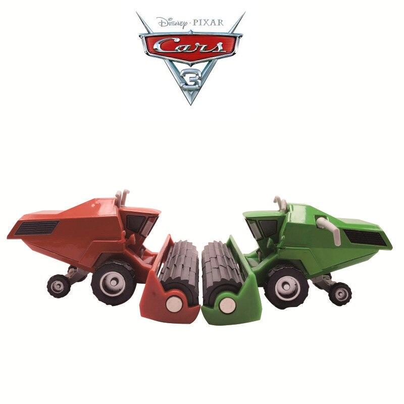 Металлическая игрушечная машинка Disney Pixar «Тачки 2 3», литые машинки, игрушка Фрэнка, трактор, комбайн, бульдозер, модель, игрушки для детей, по...