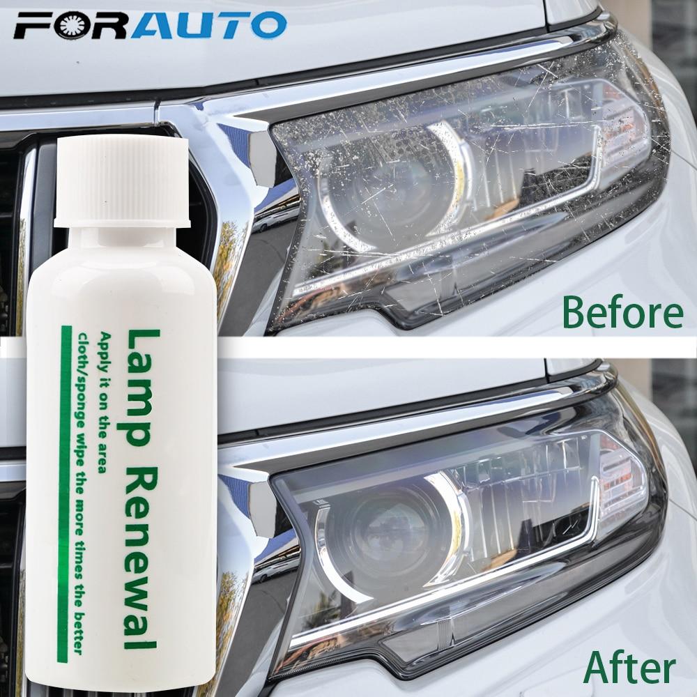 20/50ml Car Headlight Repair Liquid Lamp Retreading Agent Glitter Auto Polish Len Restoration car headlight restorer kit
