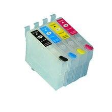 Cartucho de tinta recargable HK T349 T3491 T3492 T3493 T3494 con Chip para impresora Epson mano de obra Pro WF-3721 WF3721