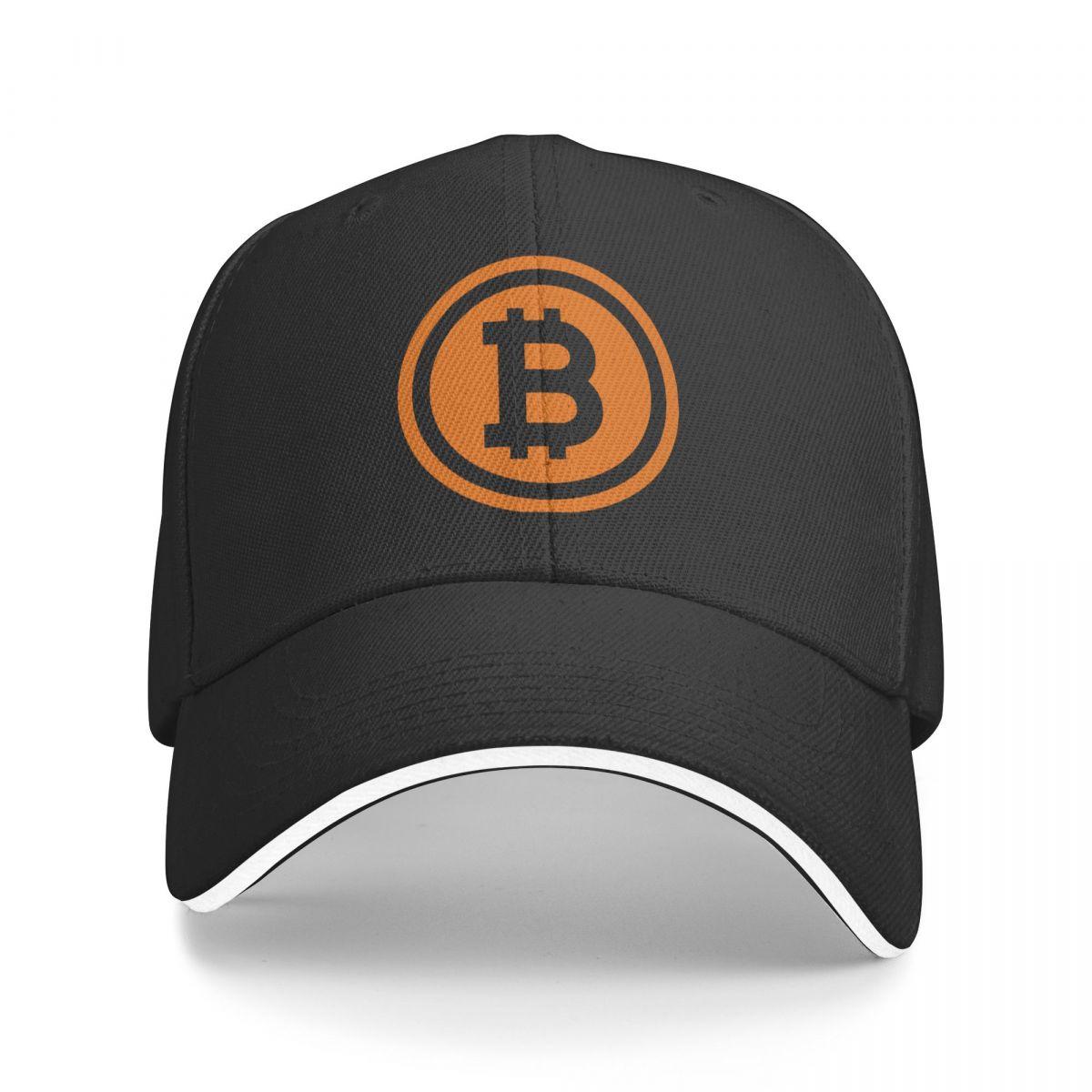 Бейсболка мужская с логотипом биткоина, модные кепки с логотипом, шапка для мужчин, кепка для отца