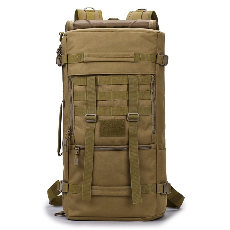 ¡Novedad de 2020! Bolsa seca impermeable de 50L, mochila de viaje de alta calidad para exteriores, mochila para acampar, montañismo, senderismo