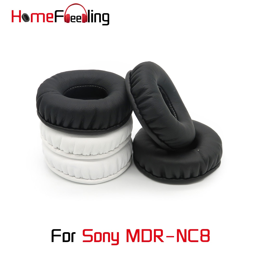 Homefeeling Ear Pads for Sony MDR-NC8 Headphones Super Soft Velour Sheepskin Leather Ear Cushions Re