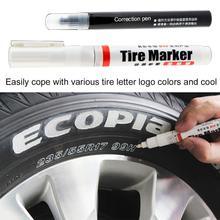 Vente polyvalente de marqueur de marquage de pneu Permanent blanc pour pneu dautomobile et pneu de moto livraison directe en gros