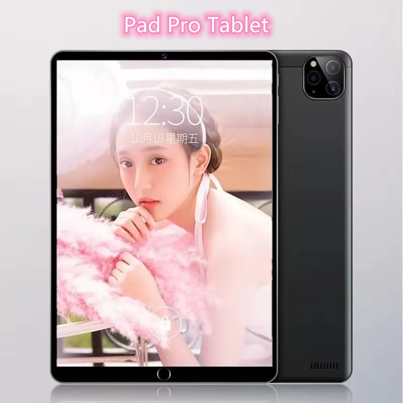 Pad Pro Tablet 10.1 inch 1920x1200 MTK6797 Ten Core 6GB RAM 128GB ROM tablet Android 10.0 tablete 4G