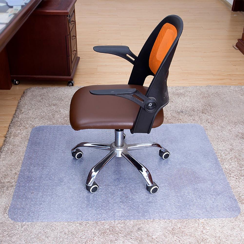 Прозрачный Противоскользящий коврик для дома и офиса из ПВХ с защитой от царапин