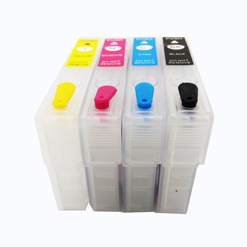 Einkshop cartucho de tinta para Epson 603XL T603XL 603 T603 para Epson WF-2810 WF-2830 WF-2835 WF-2850 con arco Chip