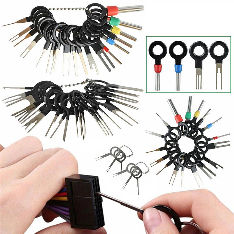 Pinza de presión para cables eléctricos, Kit Extractor de clavijas para coche,...