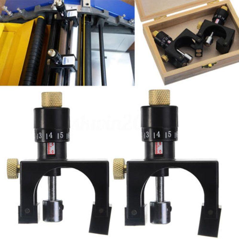 2X Adjustable Planer Blade Cutter Calibrator Setting Jig Gauge Woodworking Tool Wood Planer Blade