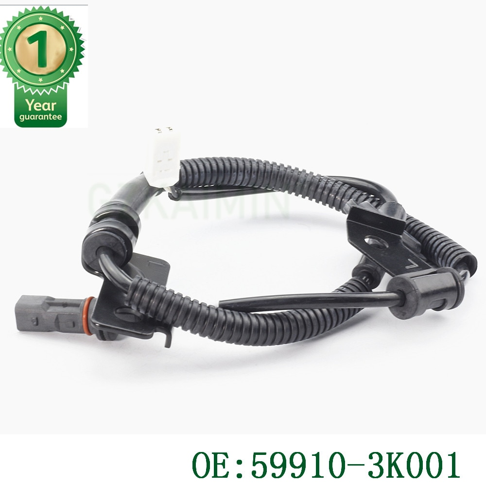 Sensor de velocidad de la rueda trasera izquierda ABS de alta calidad para Hyundai Azera Sonata OEM 59910-3K001 599103K001