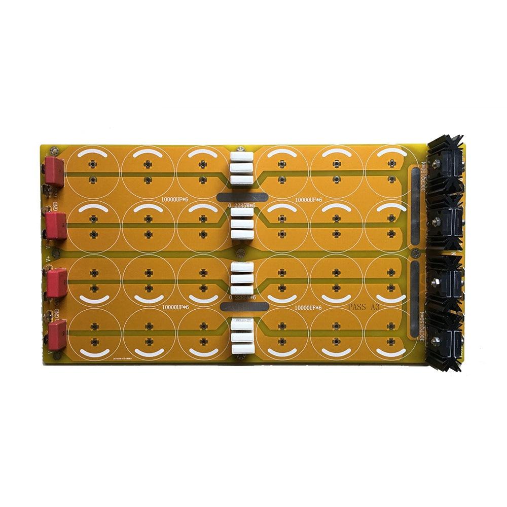 Semiacabada Pure class A potencia amplificador hifi rectificador filtro Placa de potencia sin capacitancia