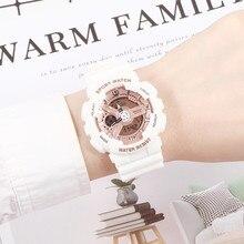 Top Brand Women Sports Watches Fashion Casual LED Waterproof Multifunction Digital Quartz Watch Girl