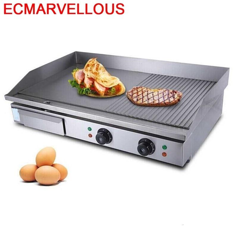 Grelha-Parrilla portátil eléctrica Para Churrasco Parrilla comercial coreana, eléctrica, Para Kebab, Teppanyaki