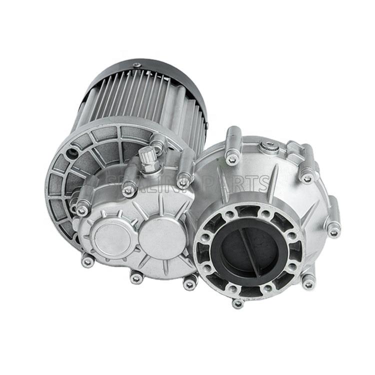 60 فولت 72 فولت 1800 واط فرش موتور تيار مباشر سرعة تفاضلية تناسب مركبة كهربية عربة ذات ثلاثة عجلات نوعية جيدة السعر المنخفض