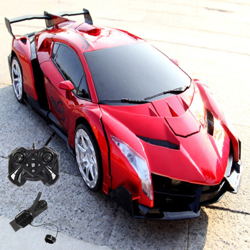 1:10 Huge Scale Induction Deformation RC Car  Long Distance Watch Remote Control Multiple Controls  Dance Music   Electric Toy enlarge