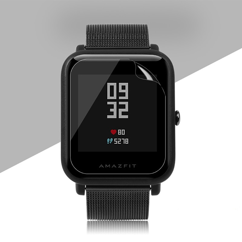 2pc For X-i-a-o-m-i Huami Amazfit Bip BIT PACE Lite Youth S-m-a-r-t Band Soft TPU Film Explosion-proof Screen Protector