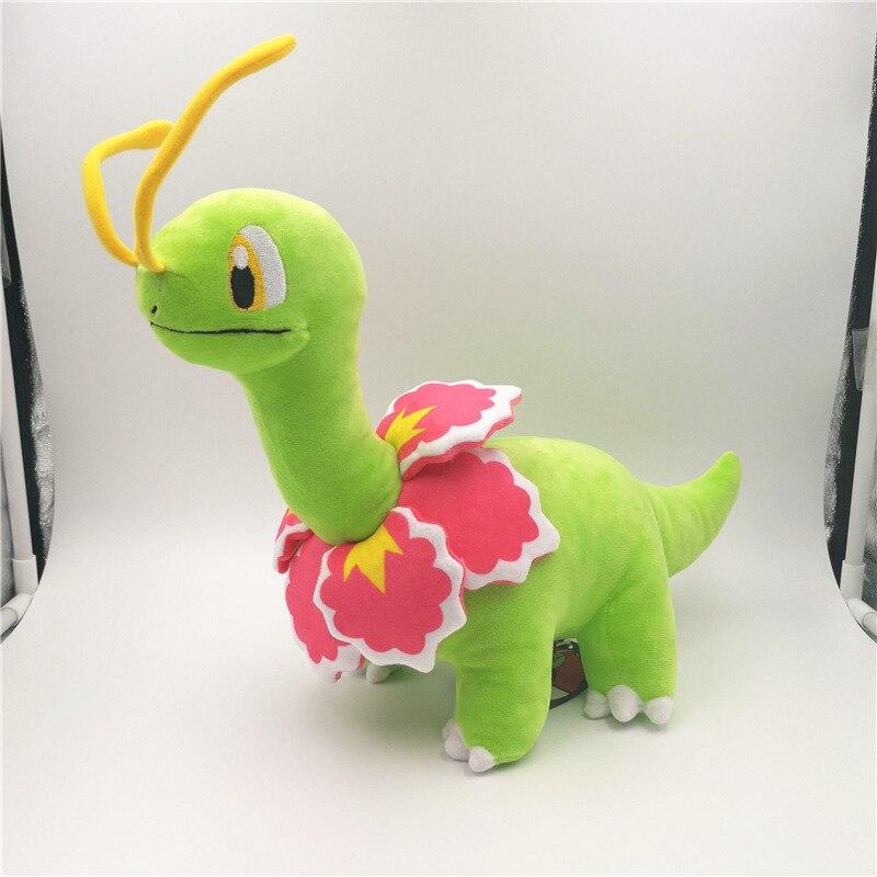 Hout venda 30cm anime dos desenhos animados meganium brinquedo de pelúcia bonito macio recheado animal bonecas
