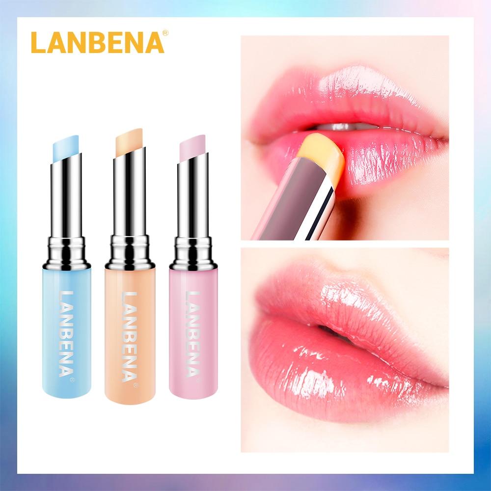 LANBENA Chameleon Lipstick Moisturizing Nourishing Lip Rose Hyaluronic Acid  Plumper Lip Lines Natural Extract Make up Lip care недорого