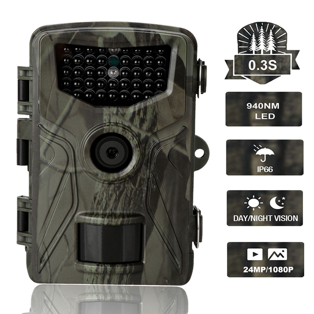 HC804A Hunting Trail Camera 20MP 1080P Wildlife Tracking Hunting Camera for Wildlife with Night Vision Motion Activated Hunting