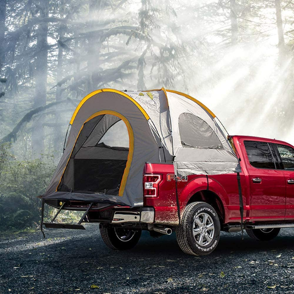 WolFAce Outdoor Pickup Truck Tent Self-Driving Camping Portable Easy to Set Car Tail Waterproof Hiking Travel Truck Bed Tents