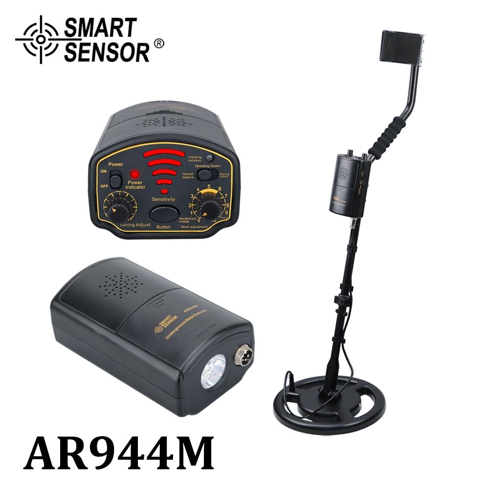 Metal Detector UnderGround depth1.8m/3m AR944M Scanner Finder tool 1200mA li-Battery for Gold Digger Treasure Seeking Hunter