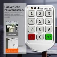 t6 intelligent cabinet locks electronic password keypad digital combination code lock for cabinetdoor smart digital lock new