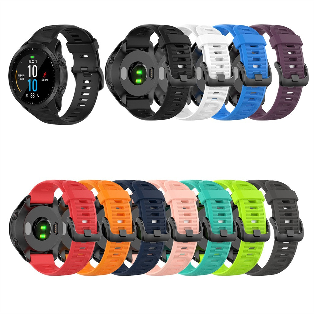 top selling product 2020 Silicone Band Replacement WristStrap For Garmin Forerunner 945/935/Fenix 5/