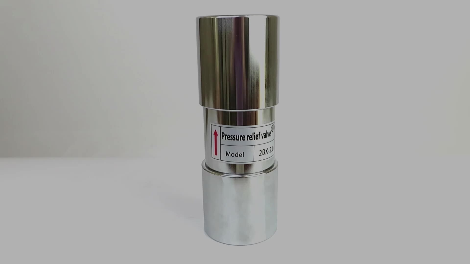 High quality 1.5 inch adjustable ring blower stainless steel Metal pressure release valve enlarge