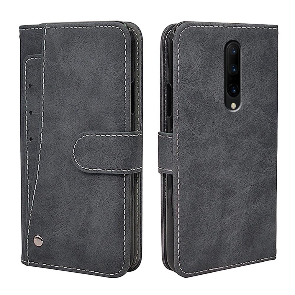 Funda Vintage de lujo para OnePlus 1 + 7T 7 6 5 3 2 1 6T 5T 3T Pro Funda de cuero suave funda de silicona de teléfono